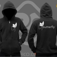 Jaket / Hoodie Zipper DJ Butterfly - Roffico Cloth