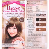 Jual LIESE bubble hair color: ORI FROM JAPAN (marshmallow brown) Murah