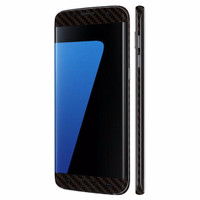 N-SkiN High Quality Premium Samsung Galaxy S7 Edge -3M Black Carbon Mu