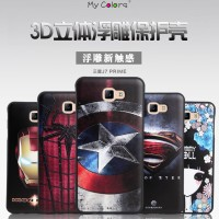 HARDCASE SOFT BACKCOVER 3D SUPERHERO SAMSUNG GALAXY J7 PRIME ON7 2016