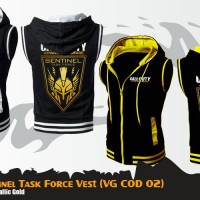 Rompi Jaket Anime Game Call Of Duty Yellow Vest Hoodie (VG COD 02)