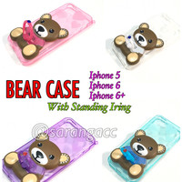 harga SOFT CASE BONEKA BERUANG + RING STAND ROR IPHONE 6+/6 PLUS Tokopedia.com