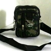 Tas selempang pria tas kecil gadget armyfashion waistbag pinggang cowo