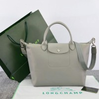 Tas Longchamp Le Pliage Neo Medium ABU ABU Ori Leather M663