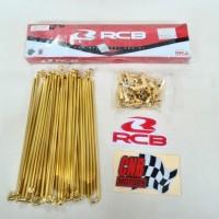 Paket Ruji Racing Boy Tromol C70 Grand Karisma ( Depan Belakang )