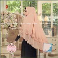 Jilbab Syari / Khimar Nuria Original by Qalisya Hijab