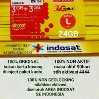 harga PERDANA INTERNET INDOSAT FREEDOM L 24GB AKTIF 3 BULAN Tokopedia.com