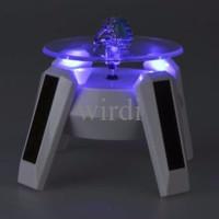 Display lampu putar 4 LED pajangan etalase HP / GPS / HT / batu cincin
