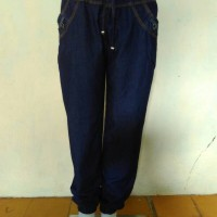 Jual Celana jogger jeans dongker denim Murah