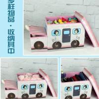 Toys storage box / tempat penyimpanan mainan lucu unik