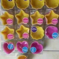 Daiso Japan Bulat Kitchen Silicone Cup isi 8 Cetakan Silikon Kue J27