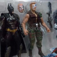 Mainan Figur Super Hero Marvel Avenger Civil War Set & Full Aksesoris