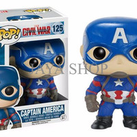 Funko Pop! Captain America (Marvel Captain America: Civil War)