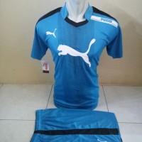 Setelan Futsal, Kostum Tim, Jersy Volly Puma Biru Muda