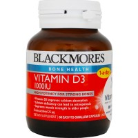 BLACKMORES VITAMIN D3 1000IU - 60 CAPS