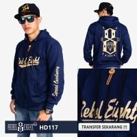 Jaket Rebel eight Navy Sweater Hoodie Pria Wanita Grosir Murah Bandung