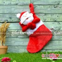 Boneka Kaos Kaki Santa - Aksesoris Natal ( AK - 339224 )
