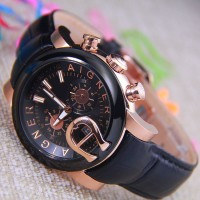 AIGNER Bary A37500 Leather (RG)