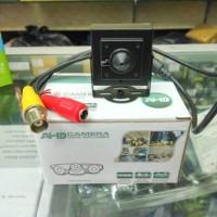 Kamera CCTV Mini Pin Hole Hidden Spy Camera AHD 1.3MP Adaptor Murah
