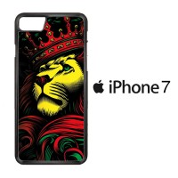 Lion Rasta Style F0511 Casing iPhone 7 Custom Case Cover