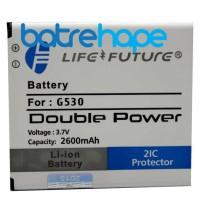 Baterai Double power Life Future LF Samsung Grand Prime G530 J5