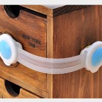 Pengaman Pelindung Pintu Lemari Laci Kulkas Bayi Baby Safety Lock Band