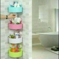 harga Triangle Shelves / Rak Pojok Kamar Mandi Temapt Sabun Dan Shampoo Tokopedia.com