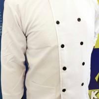 Seragam Baju Koki, Seragam Baju Chef Lengan Panjang