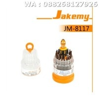 OBENG TOOL SET MEREK JAKEMY JM-8117 ORIGINAL