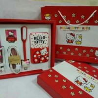 Jual Paket PB Power Bank Karakter 5in1 Hello kitty Doraemon Pikachu Murah