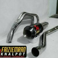knalpot racing yamaha r 25, yzf r 25 akrapovic full system