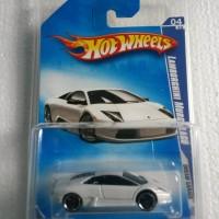 Hot Wheels Lamborghini Murcielago Putih/White FREE PROTECTOR!
