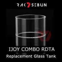 harga Replacement Glass Ijoy Combo Rdta   Kaca Pyrex Tank Ijoy Combo Tokopedia.com