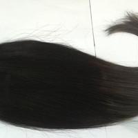 hairclip human hair 60cm / hairclip asli / rambut palsu