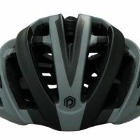 Jual Beli Helm Polygon Speed Matt Black/Grey M Baru | Helm Sepeda Mu