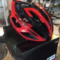 Jual Beli Helm Polygon Speed Glossy Black/Red M Baru | Helm Sepeda M