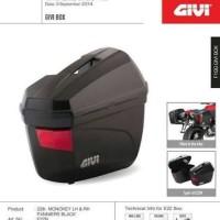 side box givi E22 N + bracket SBL 2000 original givi