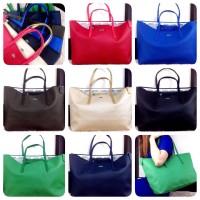 LACOSTE Classic Tote Bag SS16 0801 Import Murah Batam