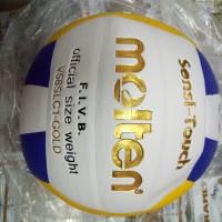 bola volly / bola voly / bola volley molten v58slc 1 Gold thailand