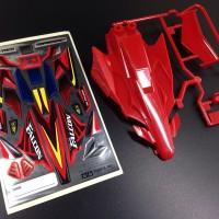 Tamiya Body Neo Falcon Red Special