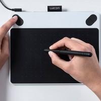 Jual Wacom Intuos Draw CTL490 White Pen Tablet Alat Desain Grafis Putih Murah