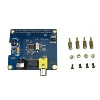 Raspberry pi 3B 2B B+ HIFI Sound Card I2S SPDIF expansion board AP75