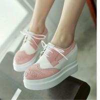 harga Sepatu Boot Wedges Korea Cewek Wanita Korea Modis Casual Keren Murah Tokopedia.com