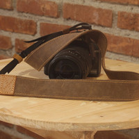 Strap Kamera Kulit Eibag 1603 B, Cocok Untuk Slr