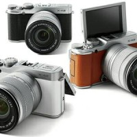 Kamera Mirrorless Fujifilm X-A2 Brown Coklat Lensa Kit 16-50mm XA2