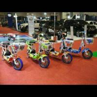 Harga sepeda listrik super rider tipe | Pembandingharga.com