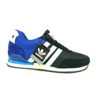 SPESIAL TERLARIS Sepatu Adidas Neo Joging Hitam Biru TERLARIS MURAH ME