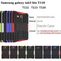 SAMSUNG TAB 3 LITE Defender Case Rugged Armor Bumper Hard+Soft Case 3V