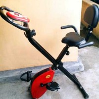 Harga alat fitnes olahraga sepeda statis magnetic xbike sandaran | Pembandingharga.com