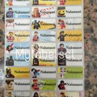 Jual Label Nama Stiker Waterproof Sticker anti air Lego Superhero ML Murah